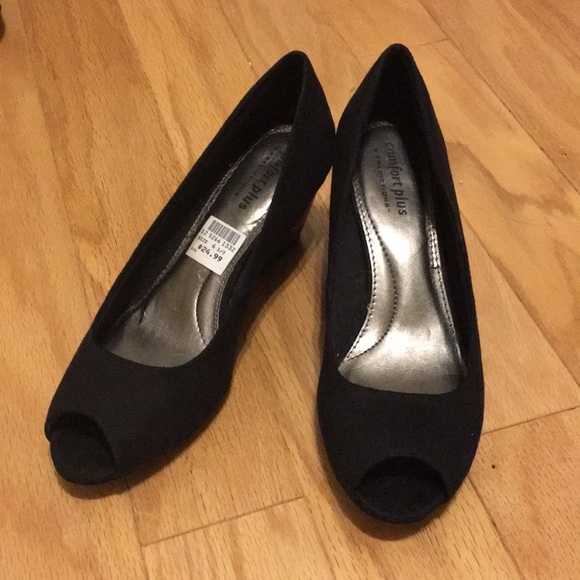 Comfort Plus Open Toe Heels